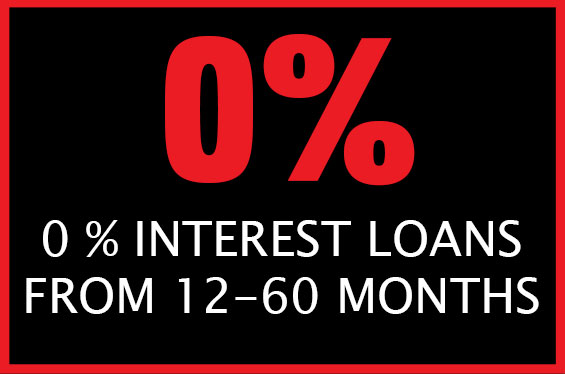 0% Interest Loans from 12-60 Months