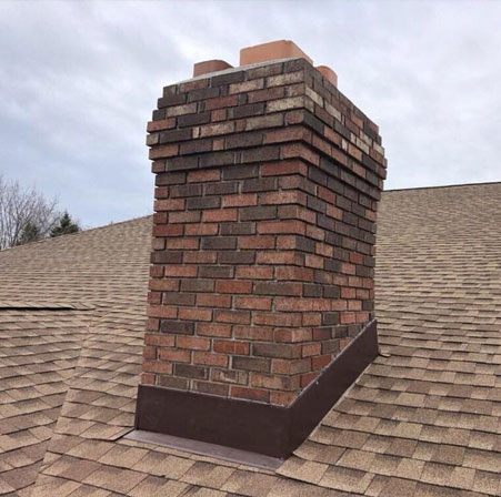 Chimney Flashing Repair Middle Island NY